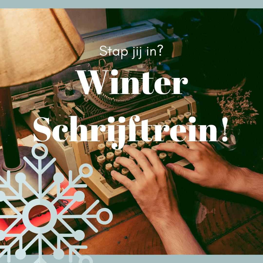 Winter Schrijftrein